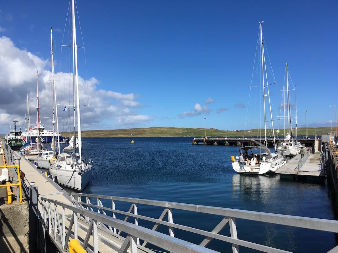 Lerwick harbour, Shetland