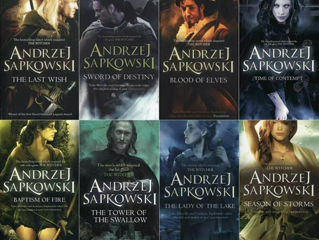 The Witcher Kitap Serisi