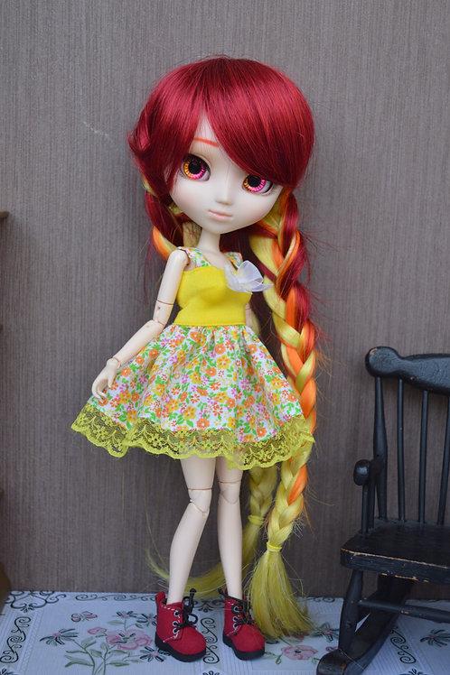 Outfit Pico aux fleurs colorées