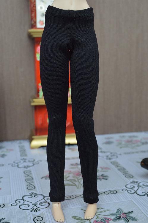Leggings noir mat