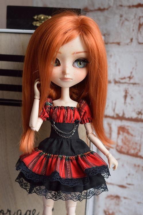Collection Gothique : Outfit Nix tartan&noir