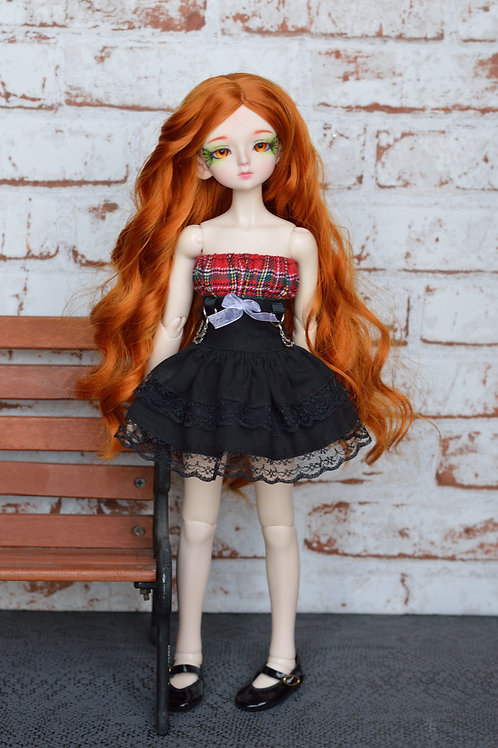 Collection gothique : Outfit Aïrithy tartan [Taille B]