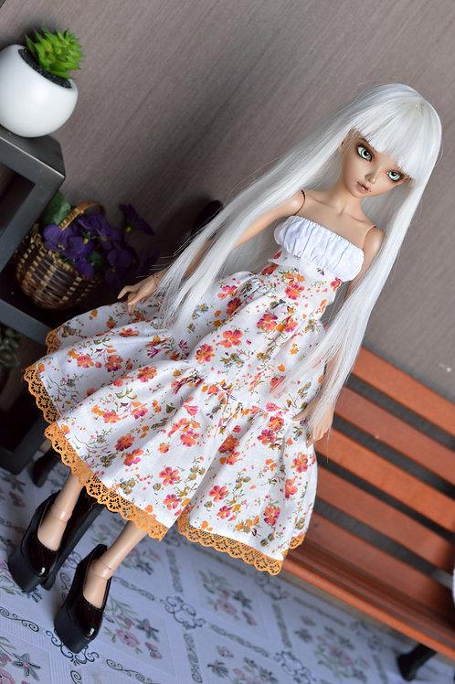 Robe Candy aux fleurs d'automne [Taille A]