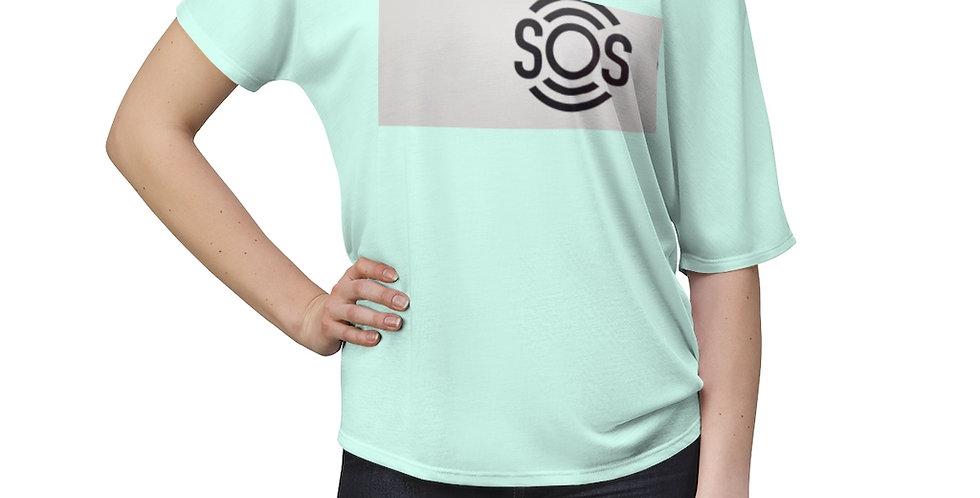 S.O.S Women's Slouchy top
