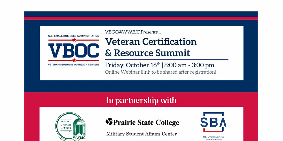 Veteran Certification & Resource Summit