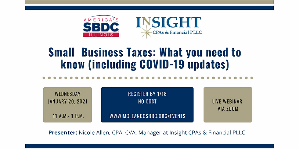 Small Business Taxes: What you need to know (including COVID-19 updates)