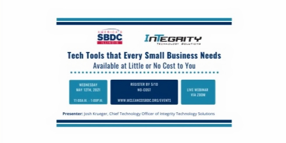 Tech Tools that Every Small Business Needs