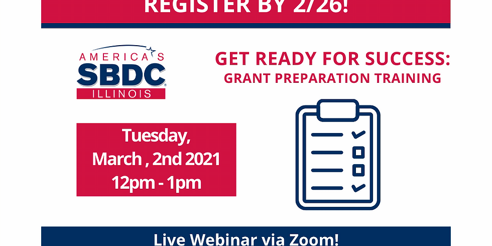 Get Ready For Success: Grant Preparation Training (1)