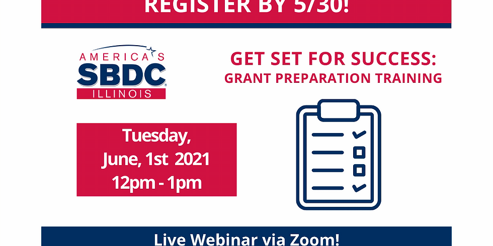 Get Ready For Success: Grant Preparation Training