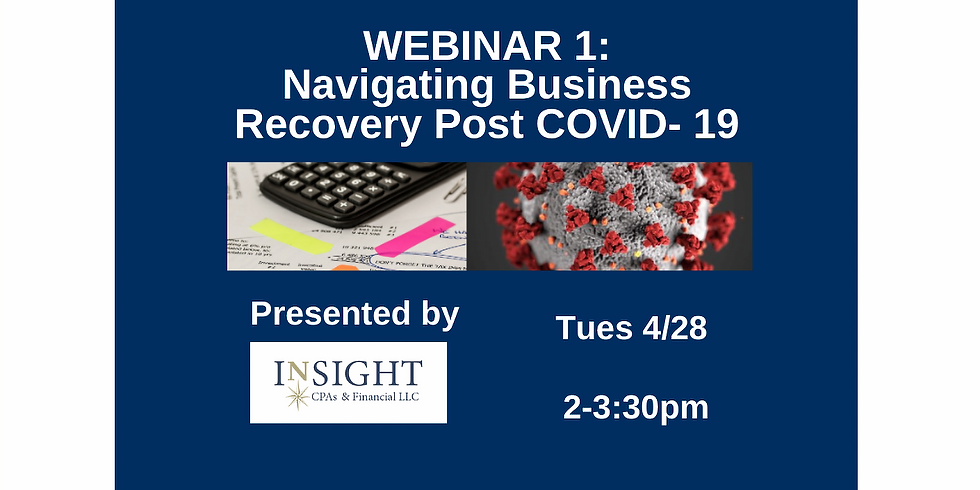 Navigating Business Recovery Post COVID-19 Webinar 1