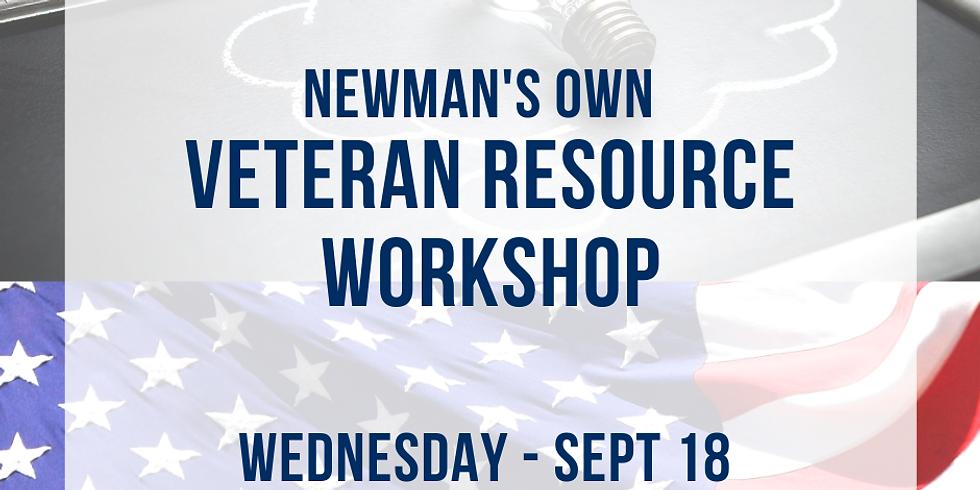 Newman's Own Veteran Resource Workshop