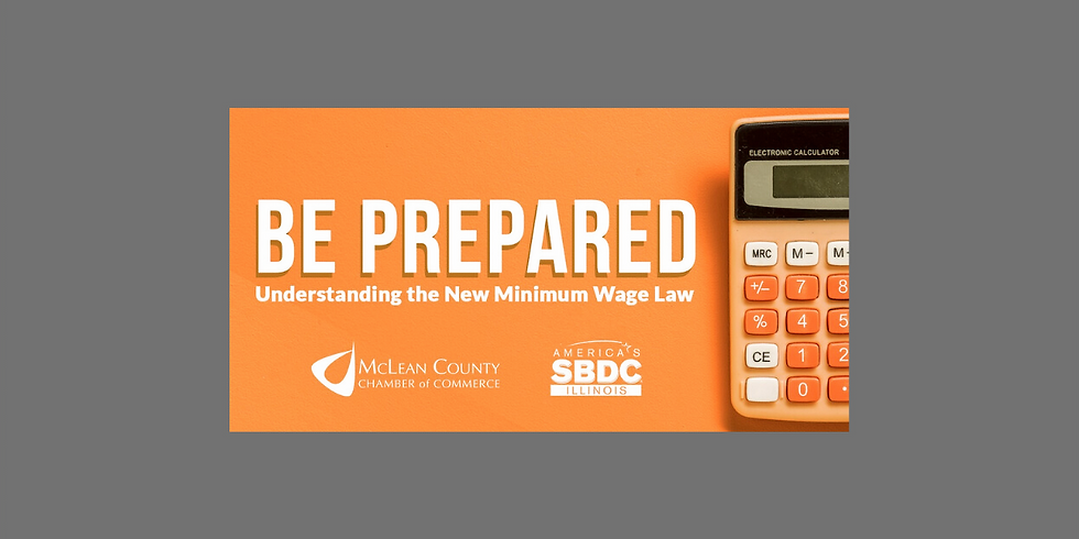 Be Prepared: Understanding the New Minimum Wage Law Seminar