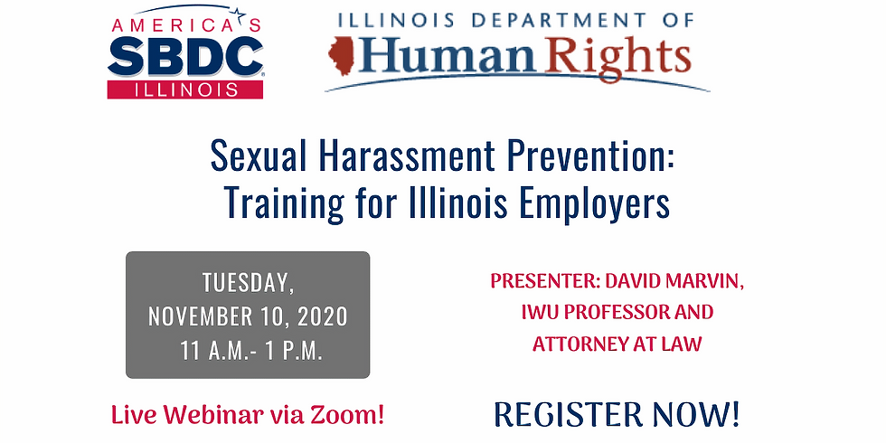 Sexual Harassment Prevention: Training for Illinois Employers