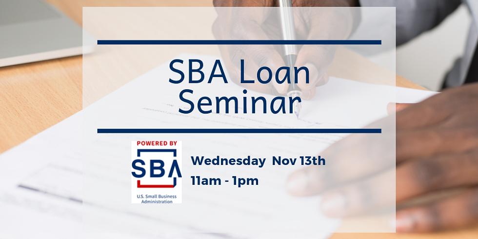 SBA Loan Seminar