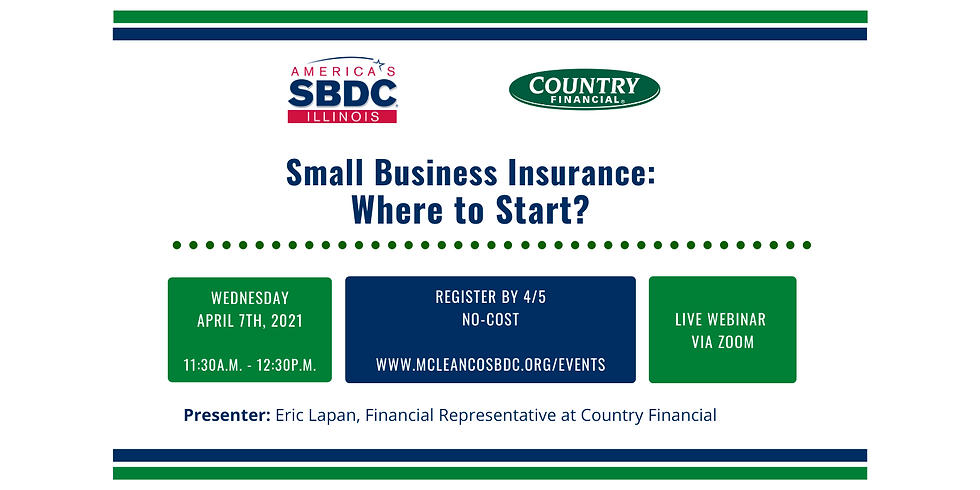 Small Business Insurance: Where to Start? (1)