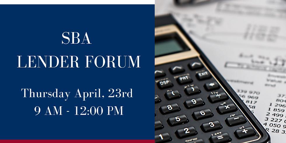SBA Lender Forum