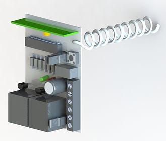 Receptor externo para portão eletrônico