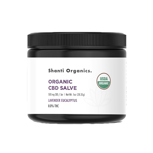 Organic CBD Salve