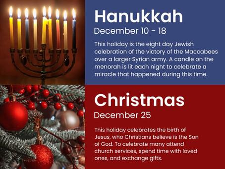 2020 December Holidays