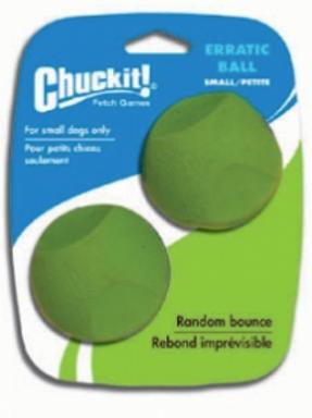 Chuckit! Erratic ball - Small 2 pack