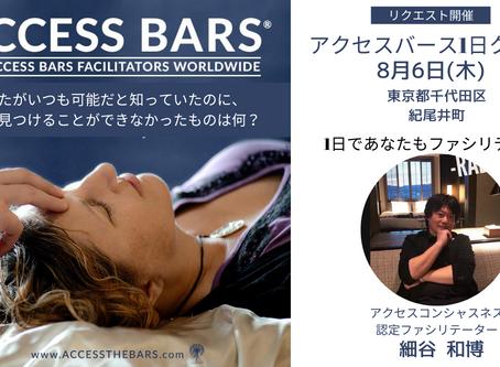 脳の疲労をほぐす アクセス・バーズ1日クラスin東京