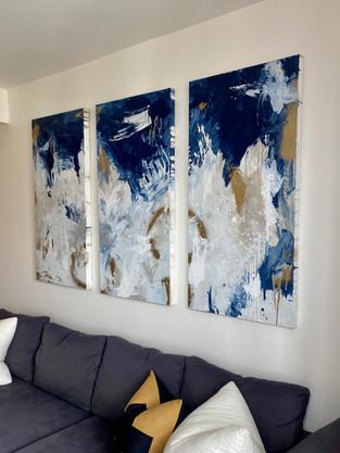 Custom Triptych