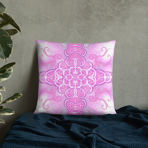 Divine feminine Rising Pillow