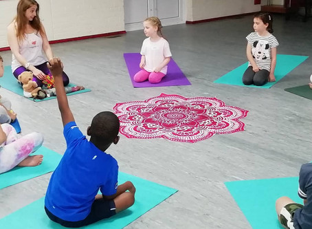 Kind Kids yoga & Mindfulness introduction Blog