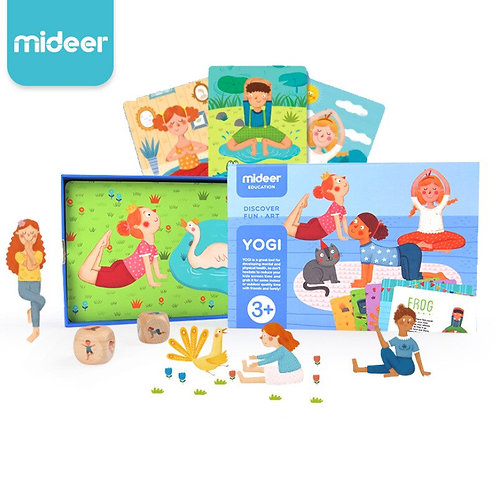 Yoga Game for the whole family