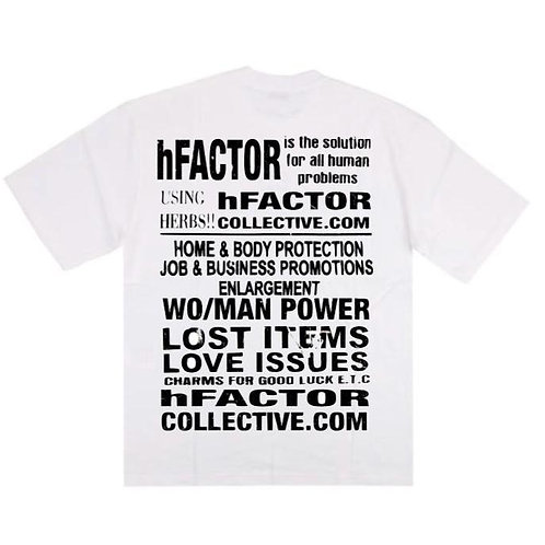 hFACTOR Solution Tee - White