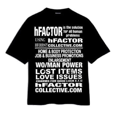 hFACTOR Solution Tee - Black