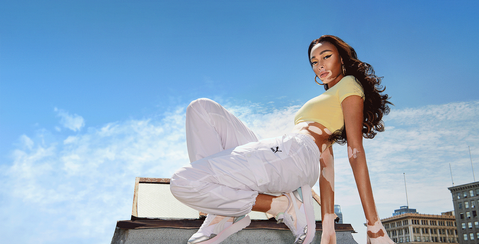Puma launches SHE MOVES US campaign with Winne Harlow