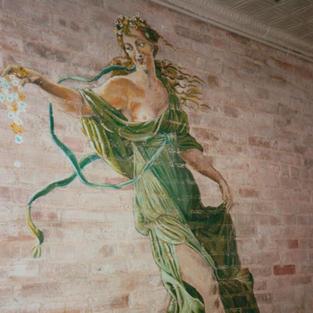 1988 Acrylic on Brick Wall, Lambardi