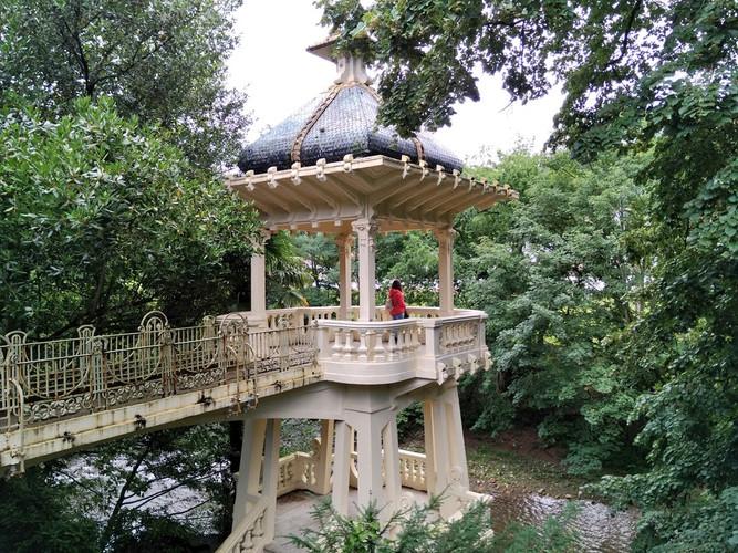 Mirador del Jardín del Parque Natural del Señorío de Bértiz