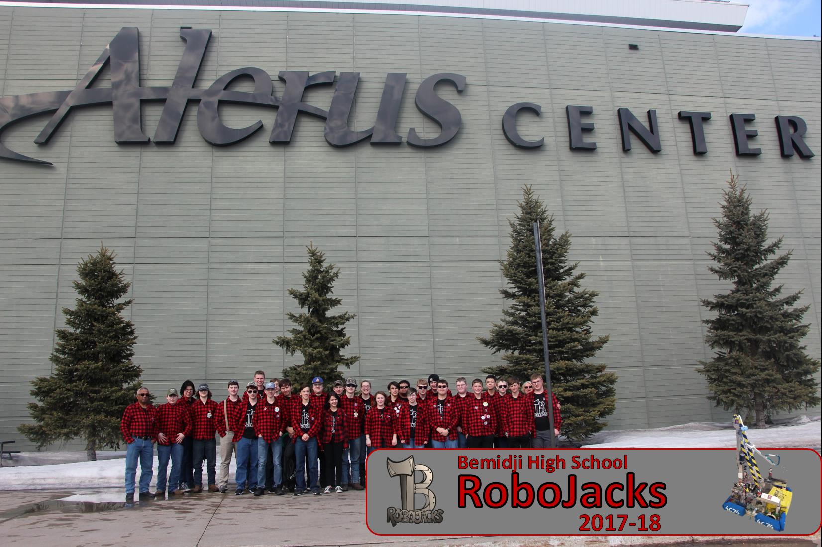 RoboJacks Team Pic 17-18