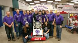 Flyer Robotics Team Picture 2018