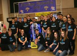 Thunder Robotics Team Photo 2018