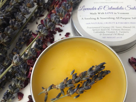 Product Highlight: Lavender & Calendula Salve