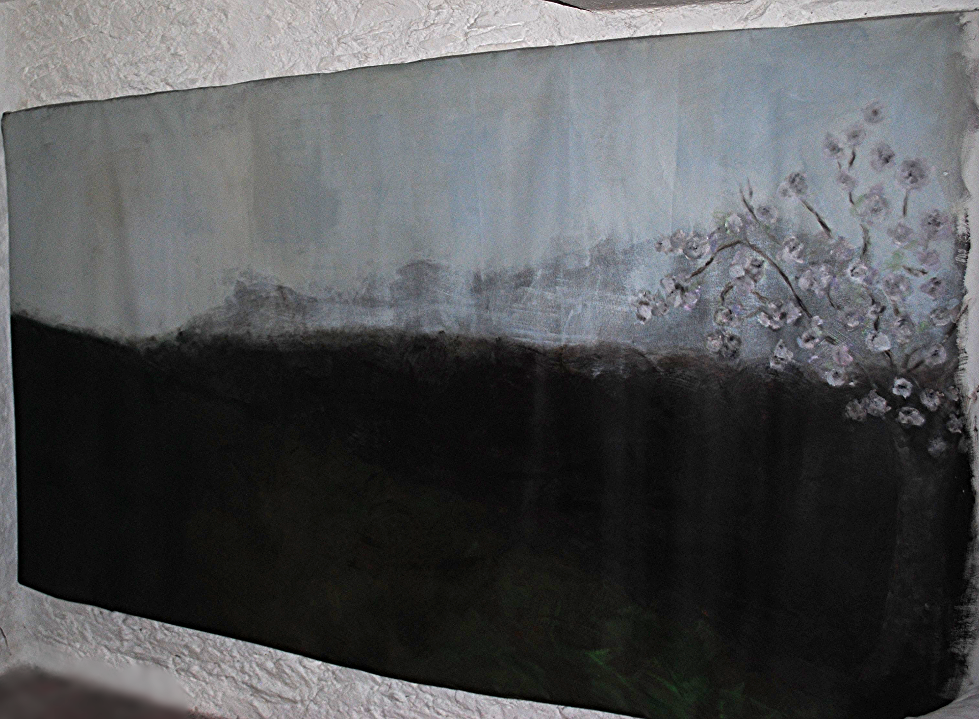 Paysage,Coline, 160x340