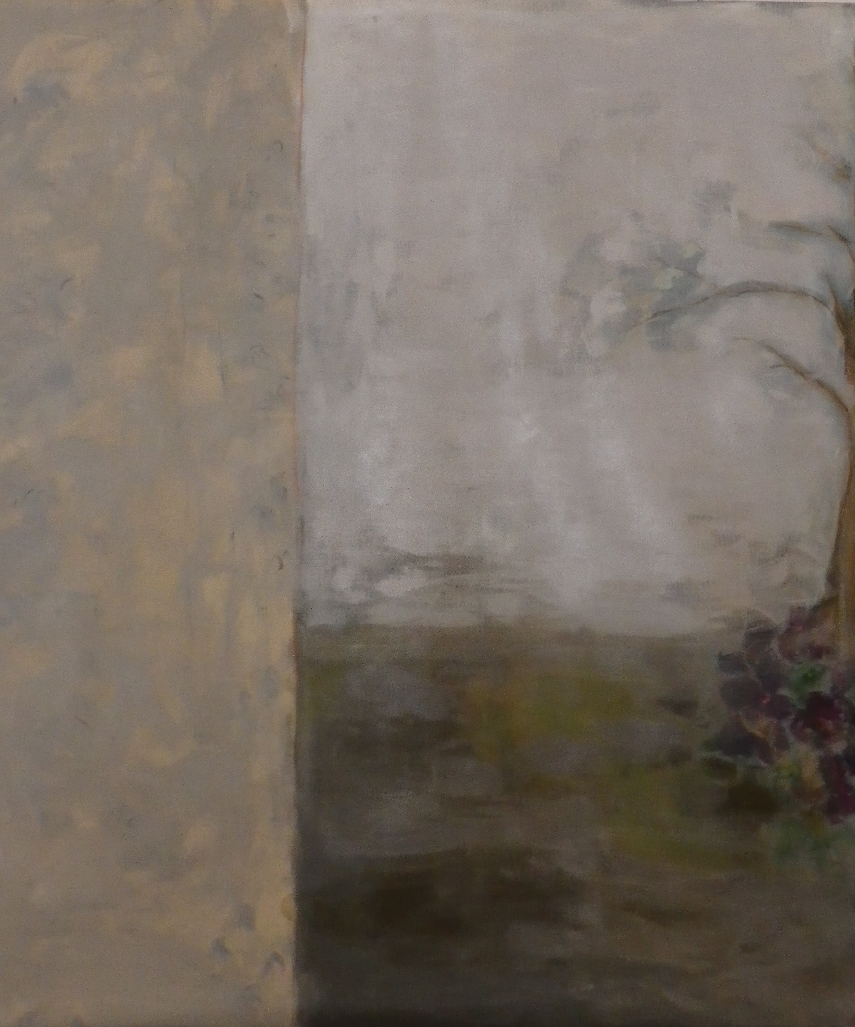 Arbre et fleurs, 160x160