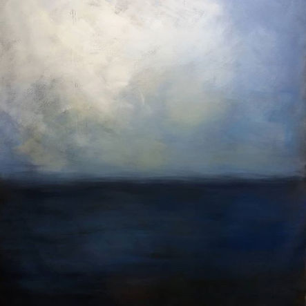 Ciel de lune. 160 x 170