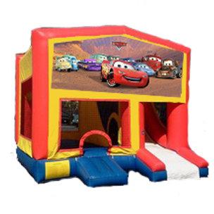 15' Boncy Castle with hoops & Exterior Slide rental ungrade