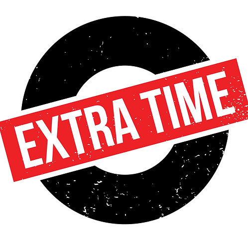 30 minutes of extra time