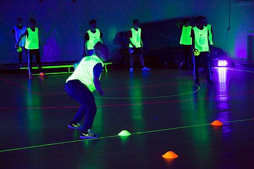 Glow in dark sports