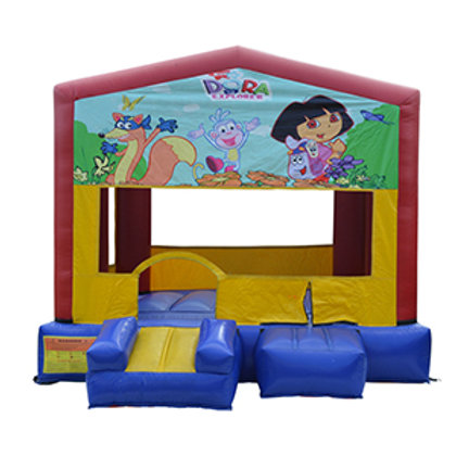 10' Mini Dora Bouncy castle rental