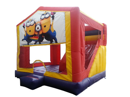 15' Boncy Castle with hoops & Interior Slide rental