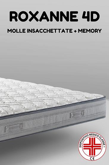 Roxanne 4D   Materasso Molle Insacchettate +Memory