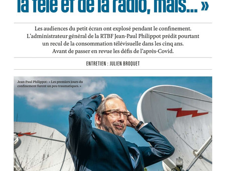 Parrution de la semaine dans Le Vif L'Express.