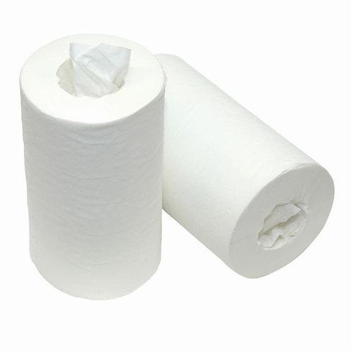 ECO Poetsrol 120mtr 1 lgs cellulose kokerloos 12 rollen