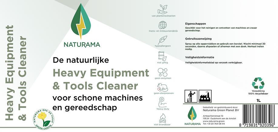 Heave Equipment & Tools Cleaner 1 liter.